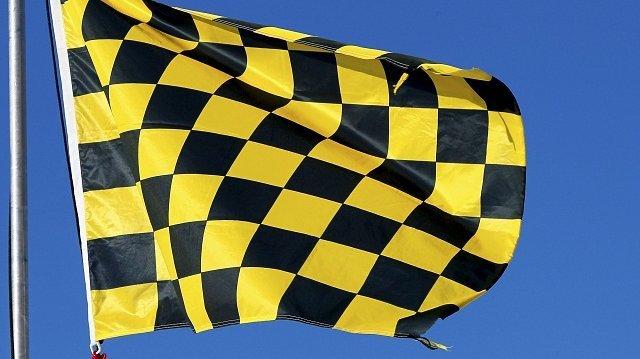 Geblokte vlag lawinegevaar Fr